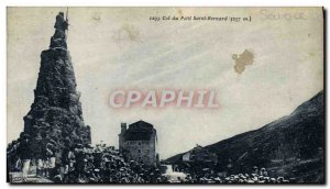 Old Postcard small Col du Saint Bernard