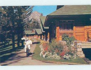 Pre-1980 LODGE SCENE Jasper Alberta AB AE0794