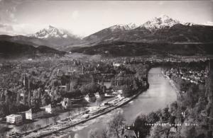 RP, Bird's Eye View, Gegen Suden, INNSBRUCK (Tirol), Austria, 1920-1940s
