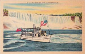 New York Niagara Falls Maid Of The Mist Artvue