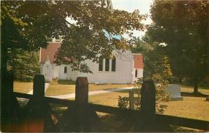 Port Sydney Muskoka Canada~Christ's Church~Gravestones~Cemetery~1960s Postcard