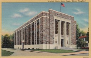 ELKTON , Maryland , 1930-40s ; Court House