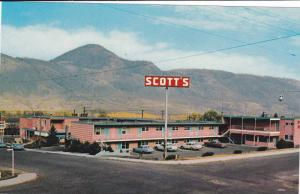 Exterior, Scott´s Motor Inn,  Kamloops, B.C., Canada, 40-60s