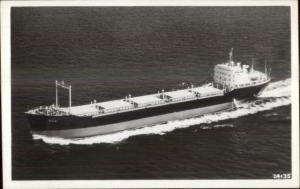 Ship M/V Regina - Regina Shipping Co Real Photo Postcard