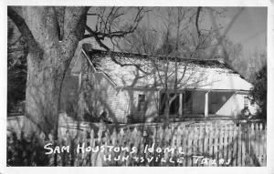 Huntsville Texas Sam Hostons Home Real Photo Antique Postcard K36627