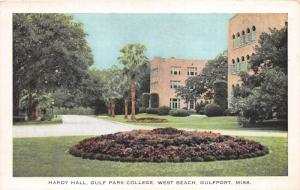 Gulfport Mississippi~Gulf Park College (for Girls) Hardy Hall @ West Beach~1950s