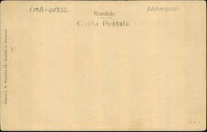 IMR00332 romania prahova sinaia castelul peles castle park fountain ca 1925