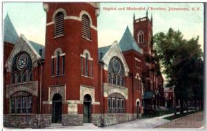 Baptist & Methodist Church, Johnstown NY