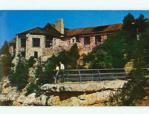 Arizona Grand Canyon Lodge Hotel North Rim Union Pacific RR  Postcard # 8555
