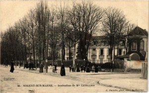 CPA NOGENT-sur-MARNE Inst. De Mme LETELLIER (869537)