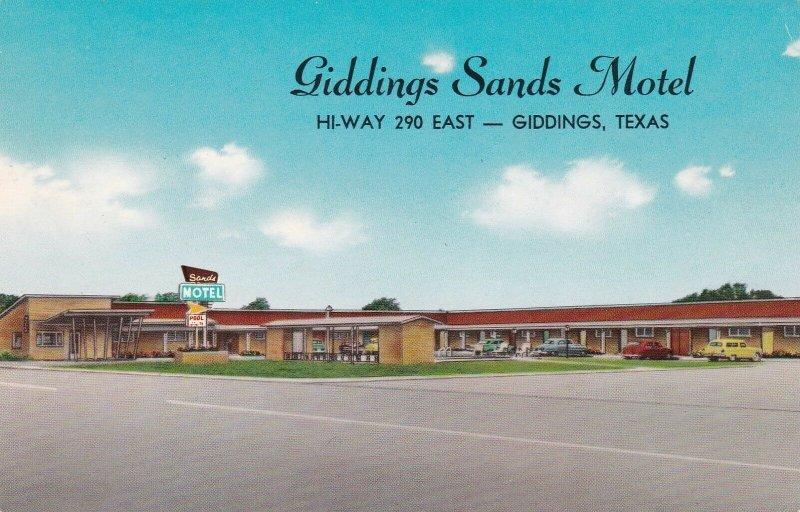 Texas Giddings The Giddings Sands Motel sk6734