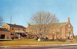 Seaford Delaware~Our Lady Of Lourdes Roman Catholic Church~1950s PC