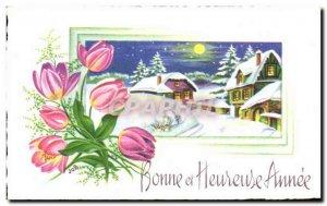 Old Postcard Fancy Happy Happy Anne