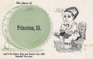 PRINCETON , Illinois , 00-10s ; Dutch Bpy with a drum