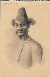 Morocco Caricature Funny Humor 1920´s Indigena del Tabor 04.58