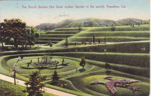 The Busch Garden, Pasadena, California, PU-1907