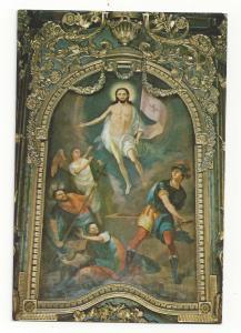 Serbia Jesus Resurrection Arsa Teodorovic Church of Three Hierarchs Vtg Postcard