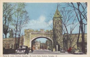 Porte St. Louis, St. Louis Gate, Quebec, Canada, 30-40s