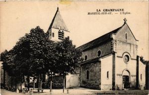 CPA MAREUIL sur AY - L'Église (364613)