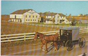 Horse Drawn Carriage Passing Plain & Fancy Farm, Old Philadelphia Pike, Inter...