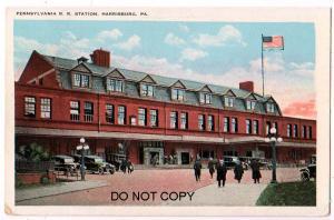 Penn RR Station, Harrisburg PA