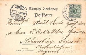 B29104 Gruss aus Plauen Rathaus germany