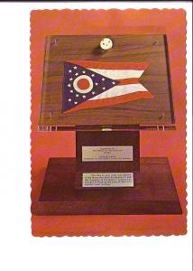 State Flag, Moon Surface Fragment, Armstrong Air, Space Museum Wapakoneta, Ohio