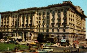 California San Francisco Fairmont Hotel
