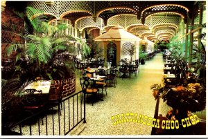 Tennessee Chattanooga Greetings Chattanooga Choo-Choo Palm Terrace Dining Area