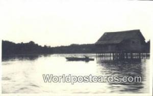Malaysia, Malaya  Malay Home Real Photo