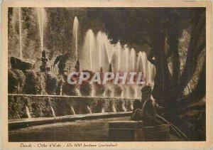 Modern Postcard Tivoli Villa d'Este The 100 Fontane (particolar)