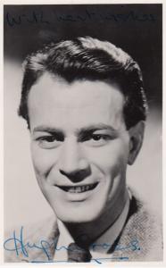 Hugh Cross Rare Printed Vintage Signed Photo