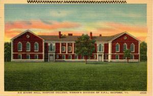 VA - Radford. Radford College, Women's Division of VPI. Dining Hall