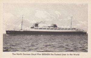 Ocean Liner BREMEN , 20-30s ; Norddeutscher Llyod Bremen