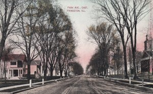 PRINCETON, Illinois, 1900-10s; Park Ave. East