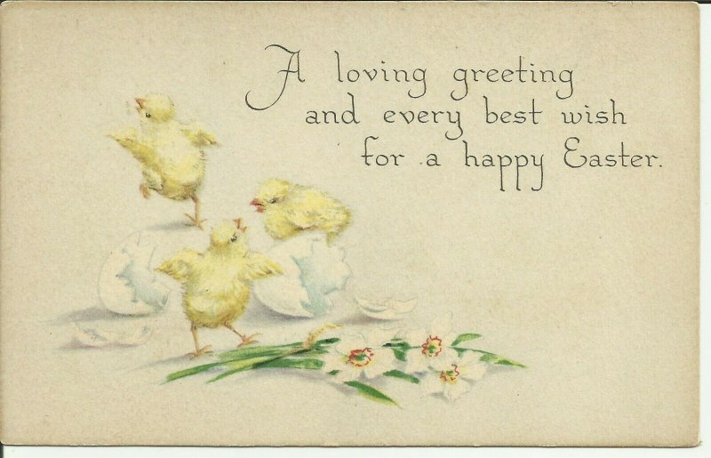A Loving Greeting and every best wish for a Happy Easter