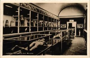 CPA AK POMPEI Interno del Museo ITALY (527098)