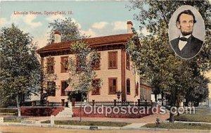 Lincoln Home Springfield, IL, USA Unused
