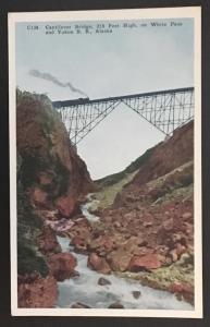 Cantilever Bridge White Pass and Yukon RR Alaska C139 HH T Co