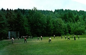 New Hampshire Spofford Camp Notre Dame Barry Field Baseball Game