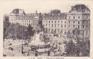 France Paris Place de la Republique