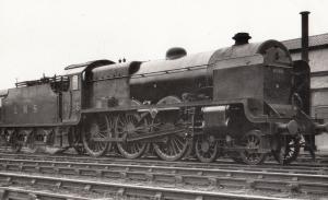 LMS Class 4-6-0 Number 6026 Vintage Train Photo Plain Back Postcard