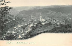 HORB a N GERMANY vom SCHÜTTENTURM GESEHEN~1900s PHOTO POSTCARD