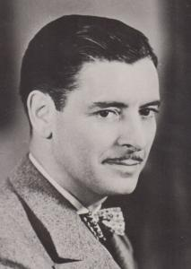 Ronald Colman Stars Of The Silver Screen Rare BBC Library Photo Postcard