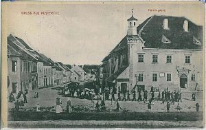 VINTAGE POSTCARD:  CZECH REPUBLIC - Slavkov u Brna   Austerlitz 1908