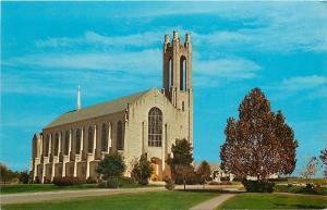 Georgetown Texas~Lois Perkins Chapel~Southwestern University~1960s PC