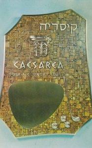 CAESAREA , Israel , 1965 ; Golf Club Plaque