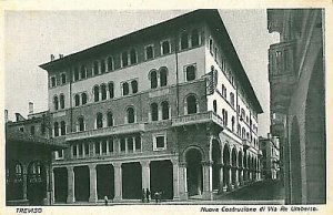 09583 - CARTOLINA d'Epoca - TREVISO Citta': VIA RE UMBERTO