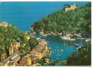 Italy, PORTOFINO, Panorama, unused Postcard