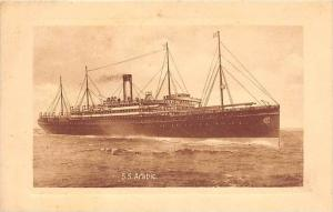 S.S. Arabic  White Star Line
